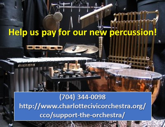 Help us pay for our new percussion