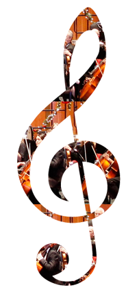 orchestra clef