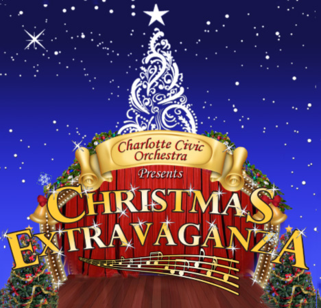 Charlotte Civic Orchestra Christmas Extravaganza Flyer
